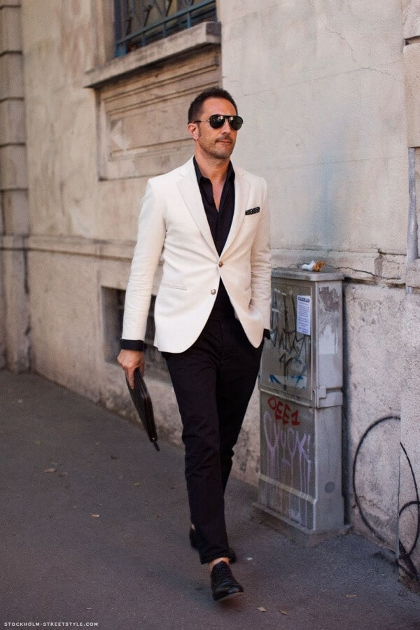 Stylish Black Shirt Combination Outfits For Men