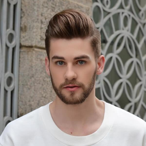Masculine Beard Styles For Men With Round Face