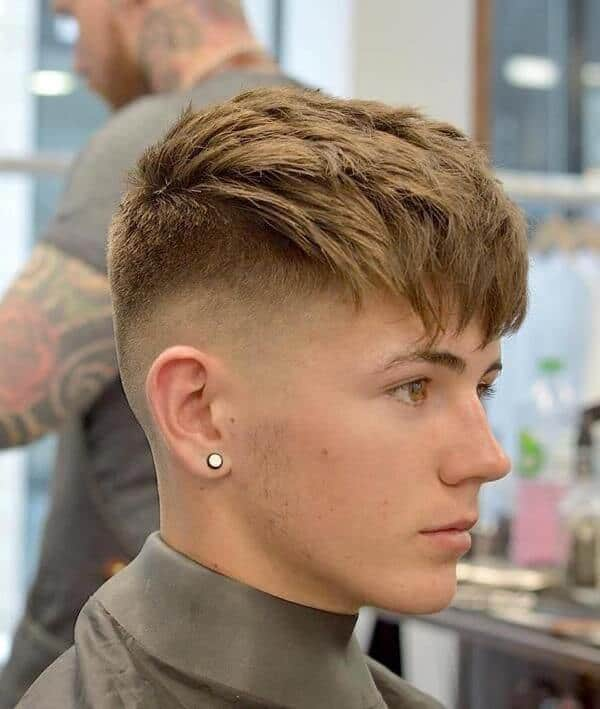 Hairstyles For Guys With Big Foreheads