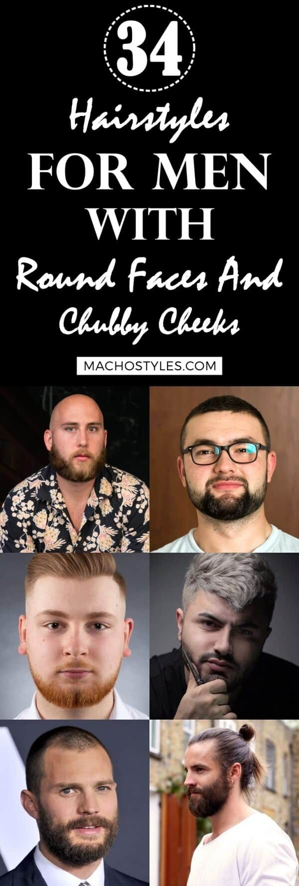 Hairstyles For Men With Round Faces And Chubby Cheeks