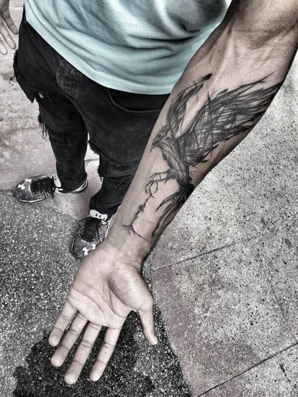 Powerful Phoenix Tattoos For Men To Try