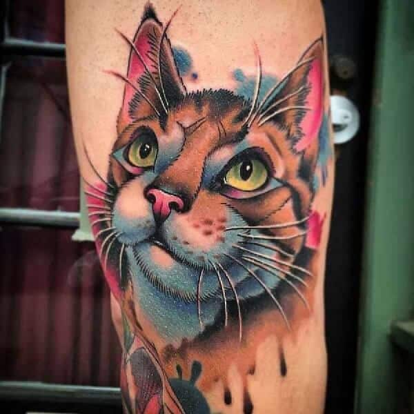 Cool Watercolor Tattoos for Guys