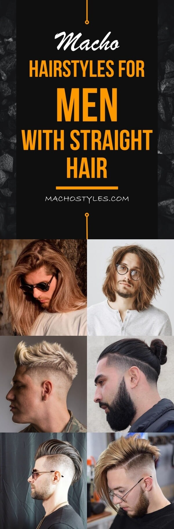 Macho Hairstyles For Men With Straight Hair