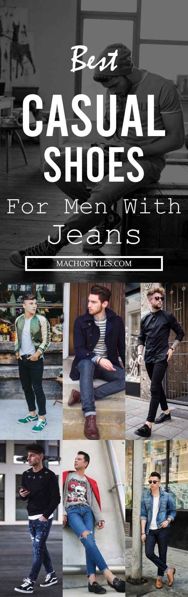 Best Casual Shoes For Men With Jeans