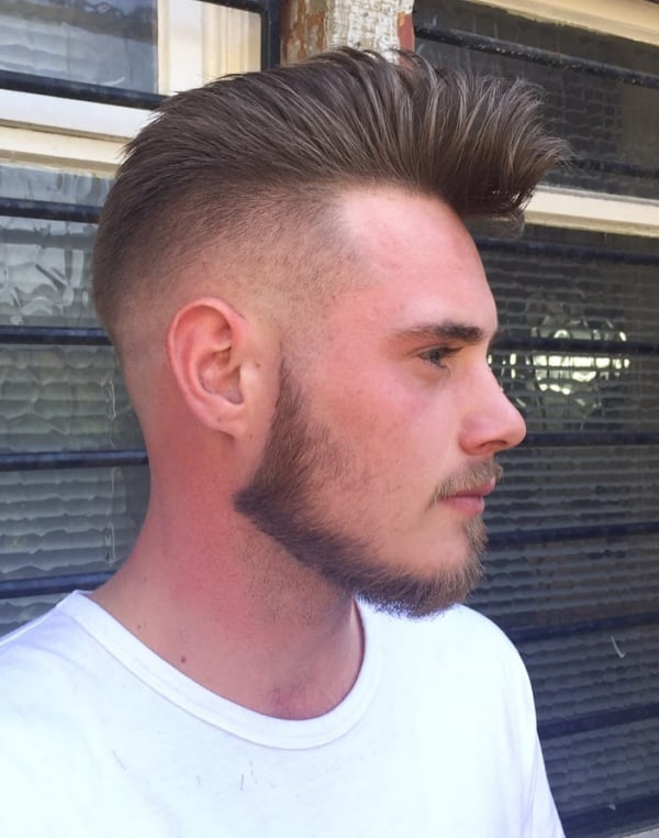 short on sides long on top hairstyles