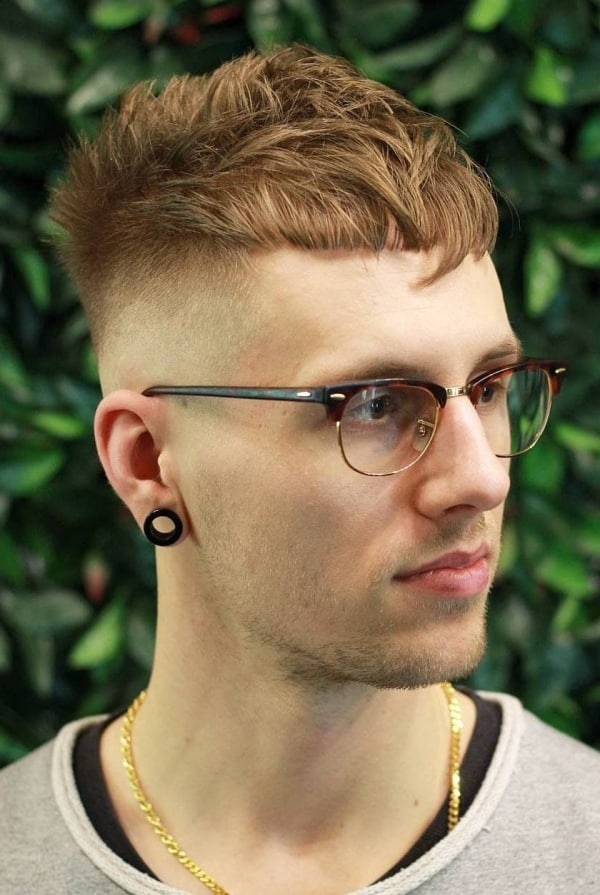 short textured haircuts for men